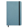 Shinola Detroit Medium Soft Cover Linen Lined Journal Harbor Blue