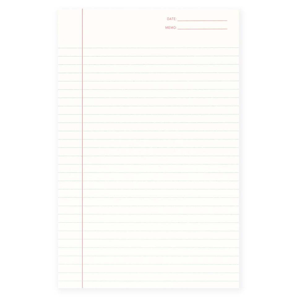 Shorthand Lined Notepad