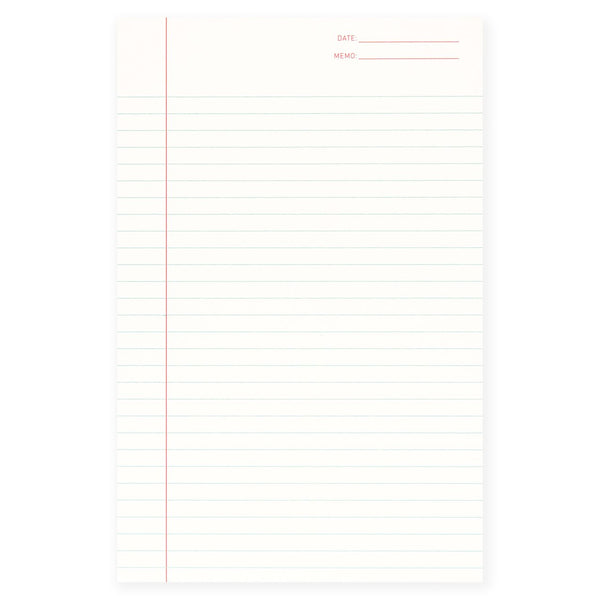 Shorthand Lined Notepad - GREER Chicago Online Stationery Shop