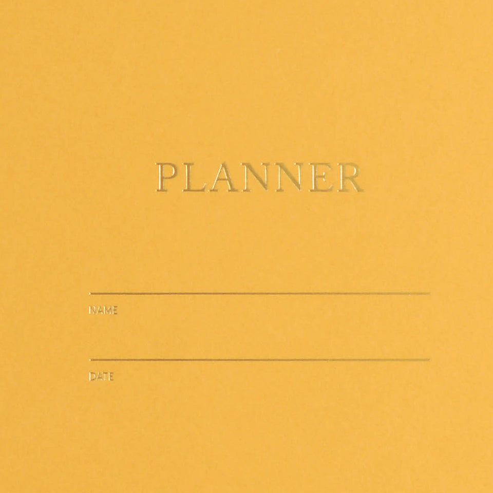 Shorthand Undated Planner | 5 Colors