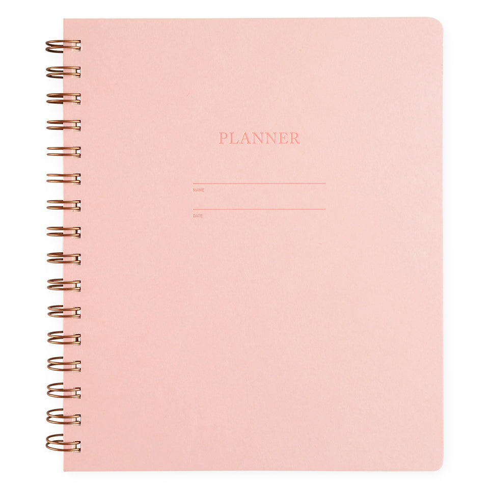 Shorthand Undated Planner | 5 Colors Pink Lemonade