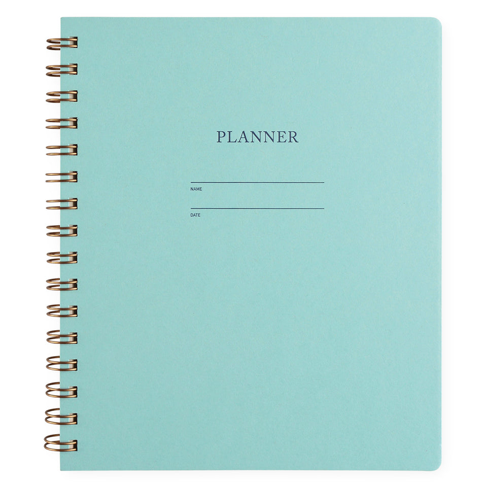Shorthand Undated Planner | In Five Colors Pool