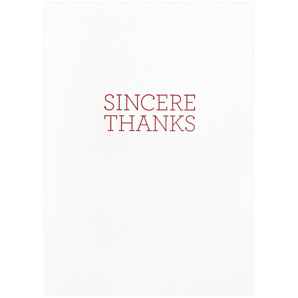 Sincere Thanks Boxed Cards By Oblation Papers & Press - 1
