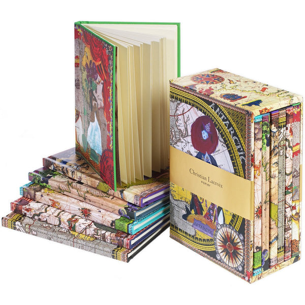Six Continents Boxed Journals Set By Christian Lacroix