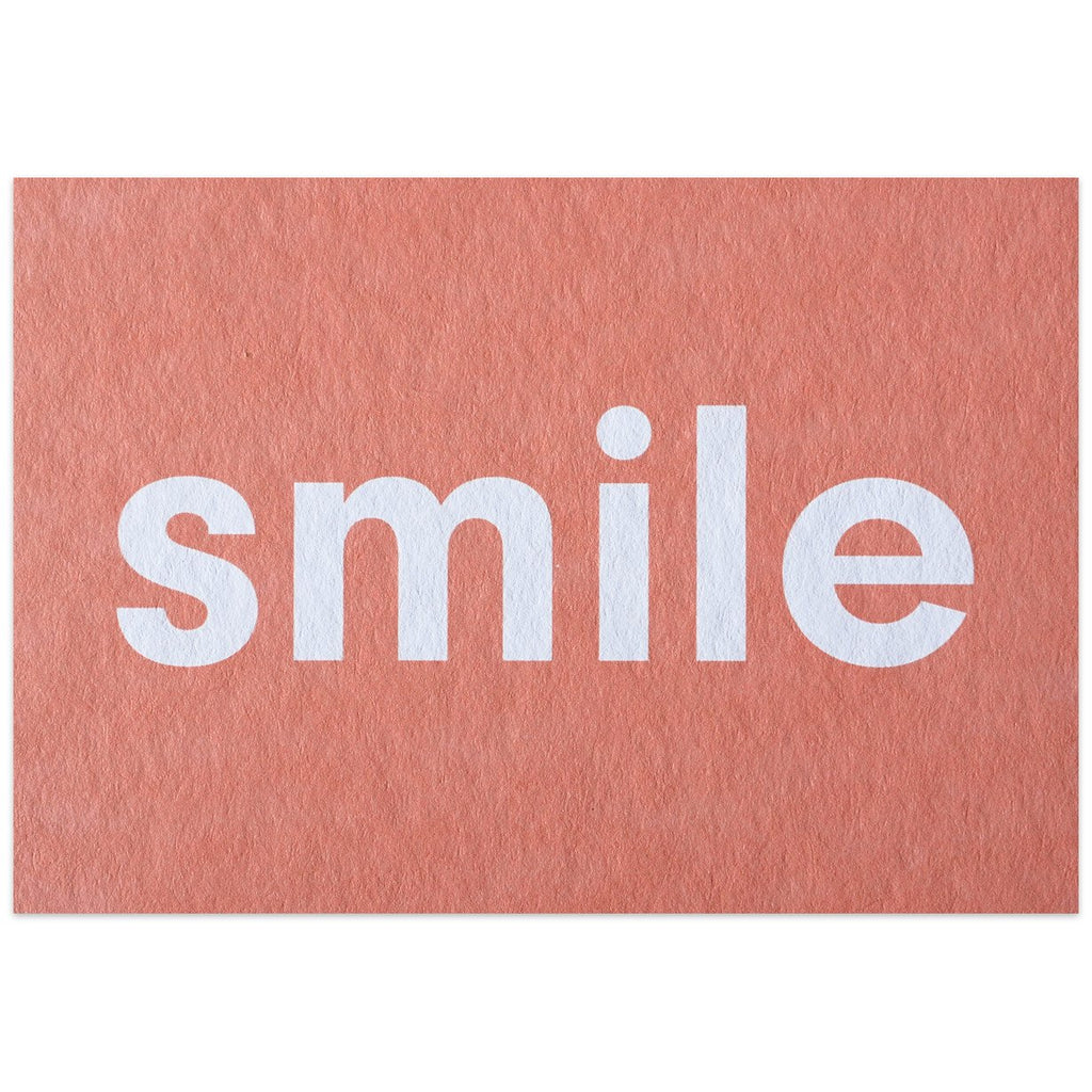 Smile Postcard By Calm Gallery - 1
