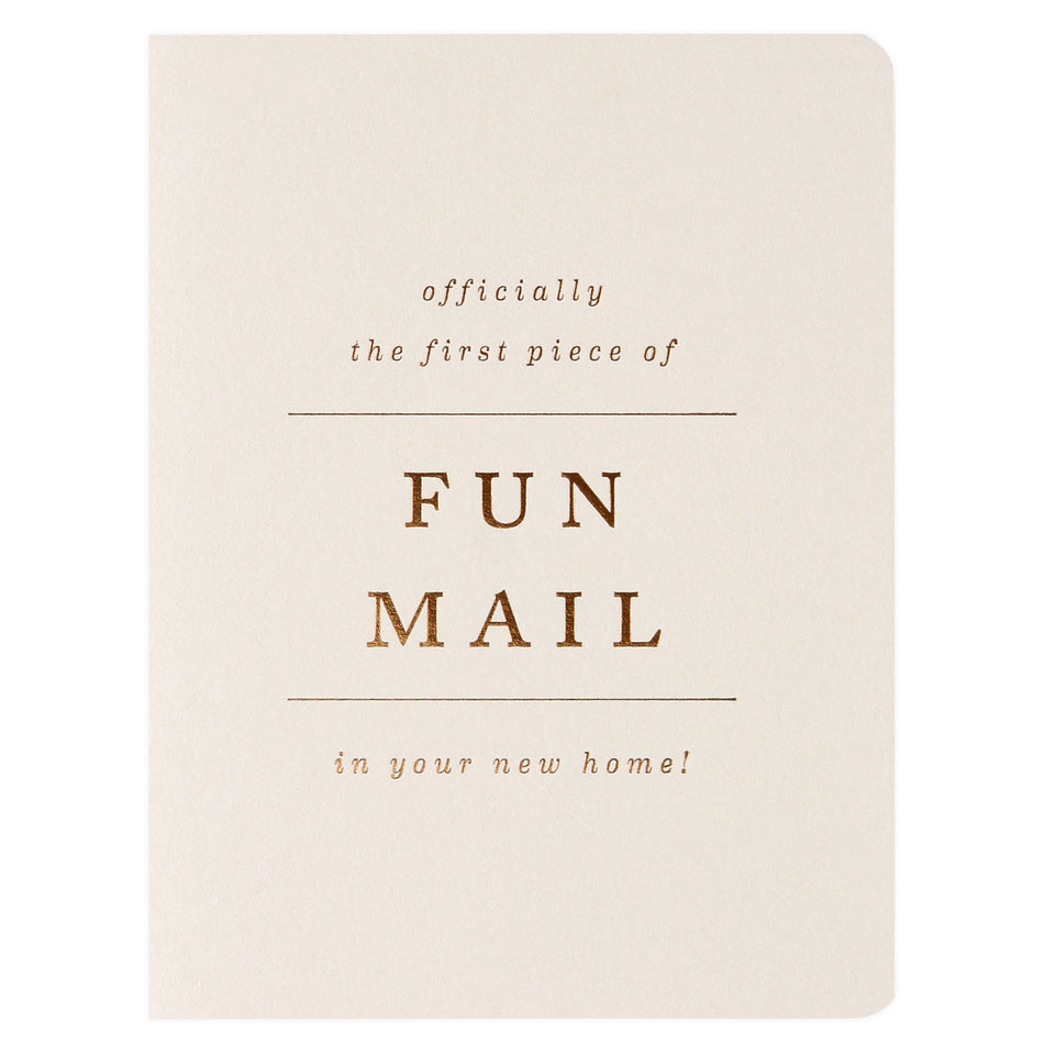 Smitten on Paper Fun Mail New Home Card