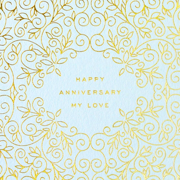 Happy Anniversary My Love Greeting Card