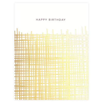 Hatch Birthday Card Snow & Graham  - GREER Chicago