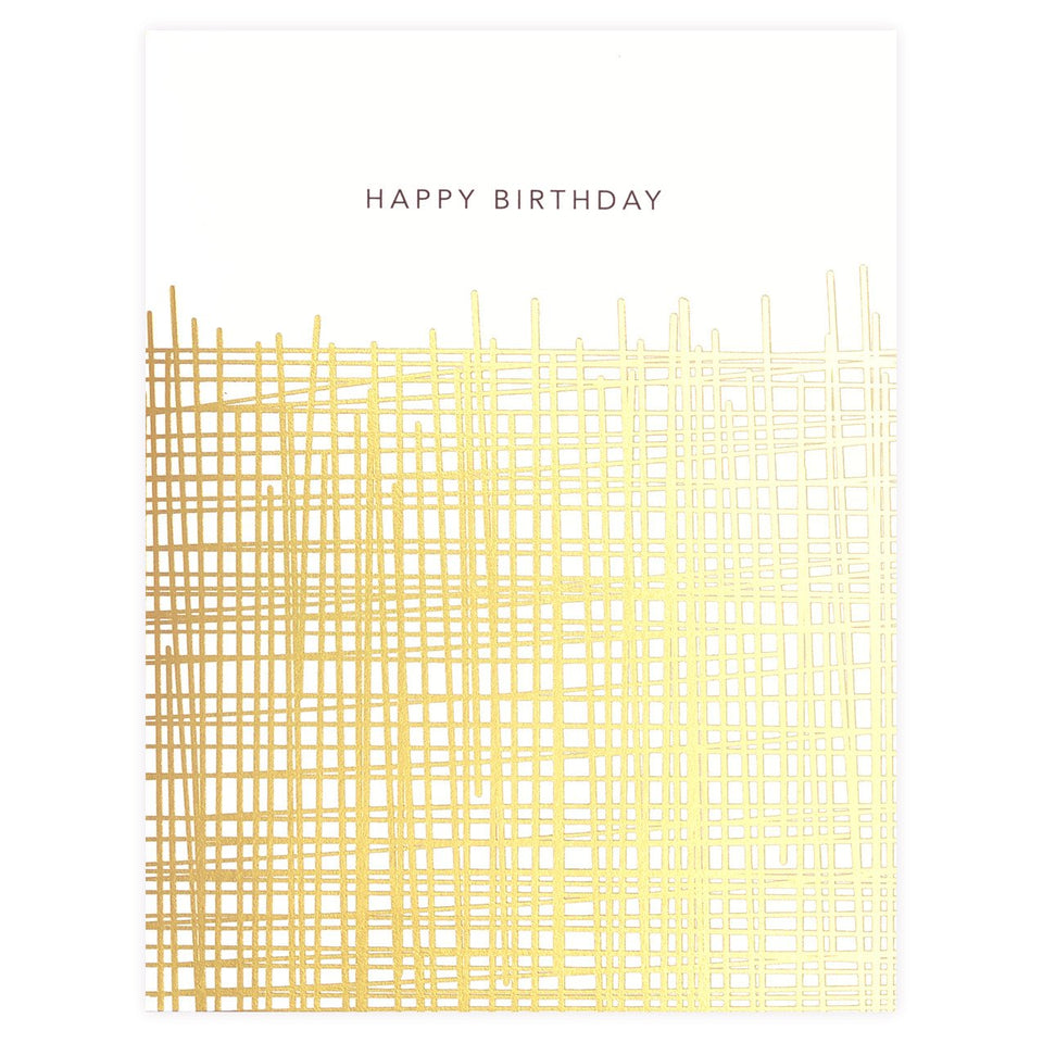 Snow & Graham Hatch Birthday Card