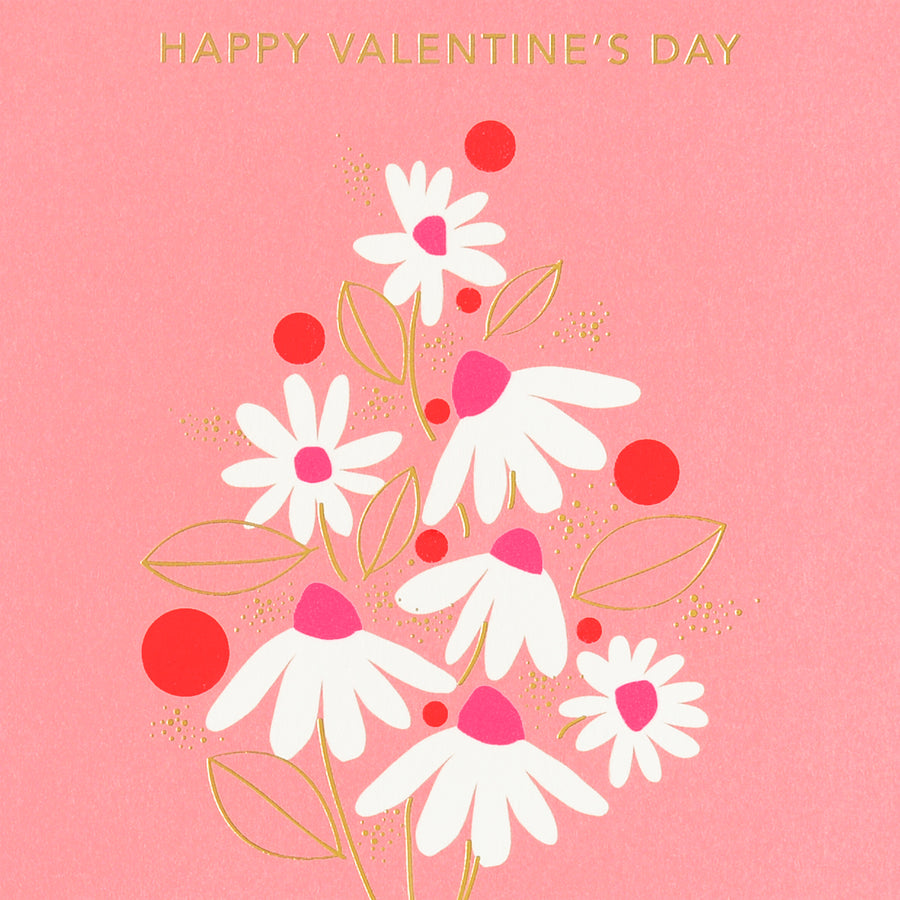 Snow & Graham Valentine Bouquet Greeting Card - GREER Chicago Online Stationery Shop