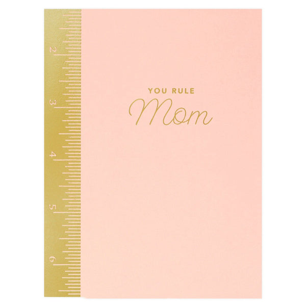 Mom Ruler Mother's Day Card
