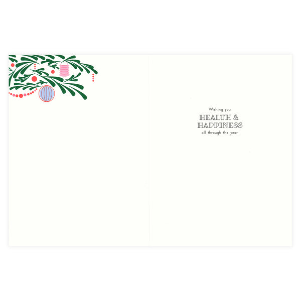 Snow & Graham Ornate Tree Christmas Cards Boxed - GREER Chicago Online Stationery Shop