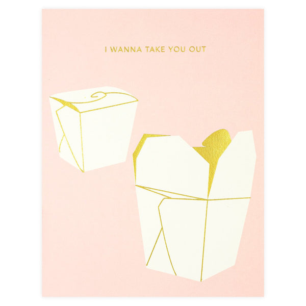 Take Out Greeting Card By Snow & Graham
