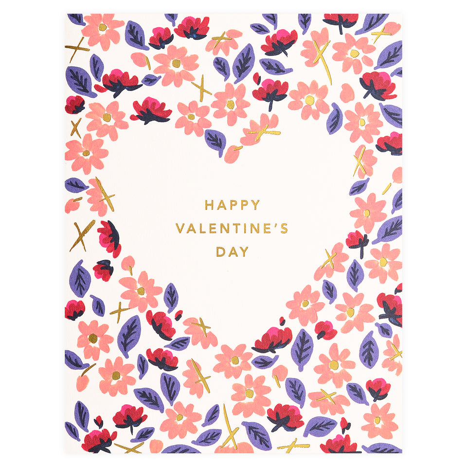 Snow & Graham Valentine Franny Greeting Card
