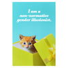 Sean Tejaratchi I Am a Non-Normative Gender Illusionist Postcard - GREER Chicago Online Stationery Shop