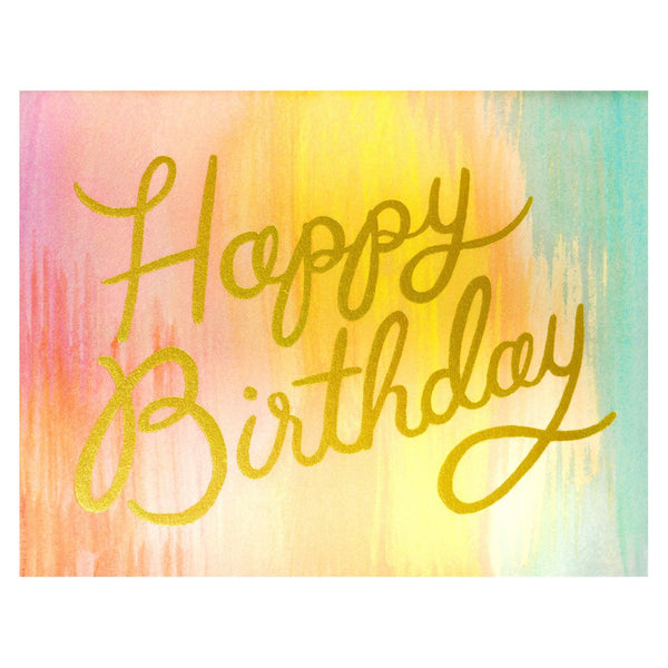 Rifle Paper Co. Sorbet Birthday Single Card Or Boxed Set - GREER Chicago Online Stationery Shop