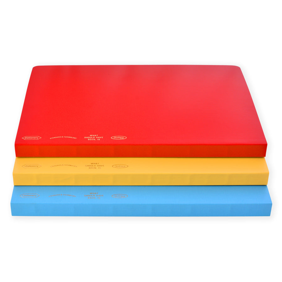 Stalogy 365Days Notebook A5 | Blue, Red or Yellow - GREER Chicago Online Stationery Shop