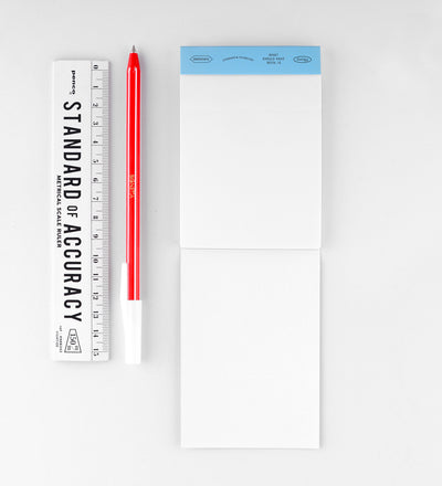 Stalogy Editor's Memo Pad | Grid, Lined or Blank Blank