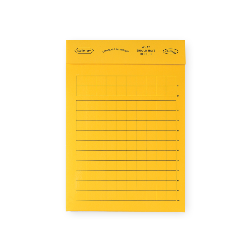 Stalogy Editor's Memo Pad | Grid, Lined or Blank Grid