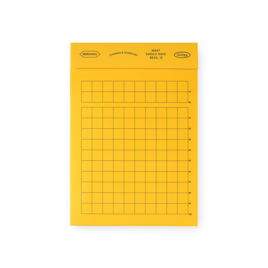Stalogy Editor's Memo Pad | Grid, Lined or Blank - GREER Chicago Online Stationery Shop