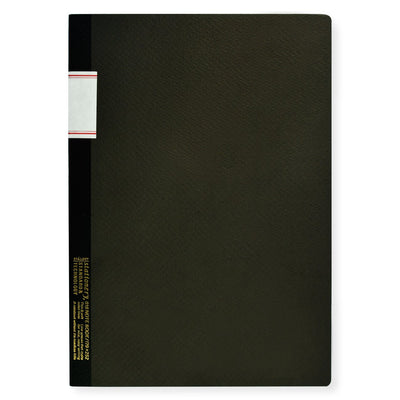 "7 x 10"" Notebook Black Stalogy  - GREER Chicago"