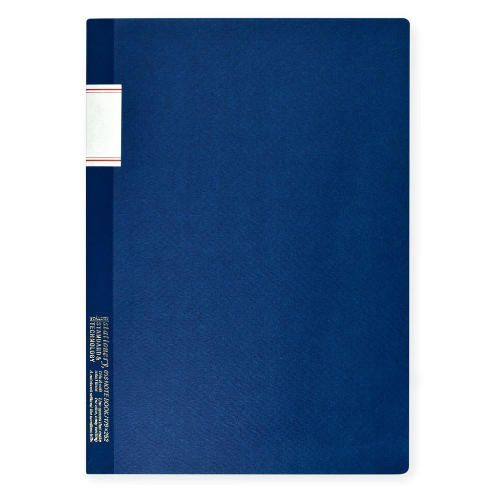 "Stalogy 7 x 10"" Notebook Blue"