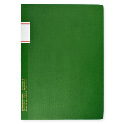 "7 x 10"" Notebook Green Stalogy  - GREER Chicago"