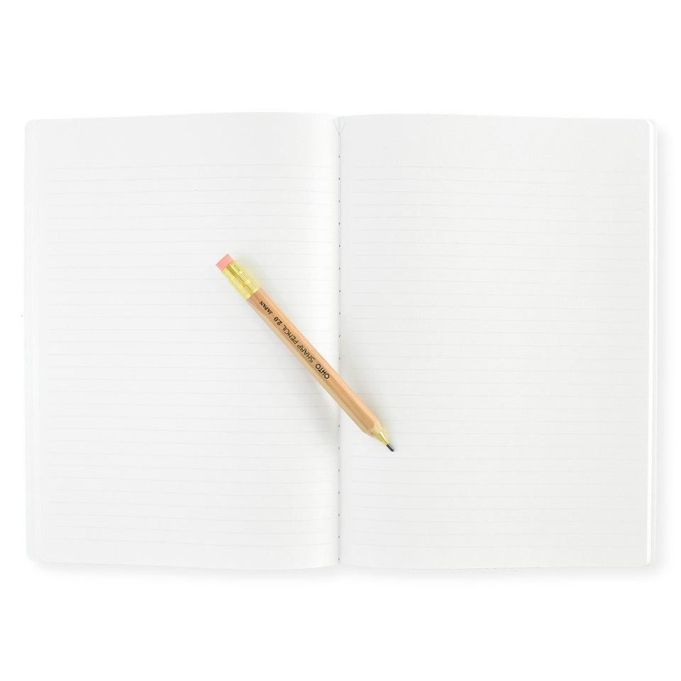 "Stalogy 7 x 10"" Notebook Yellow"