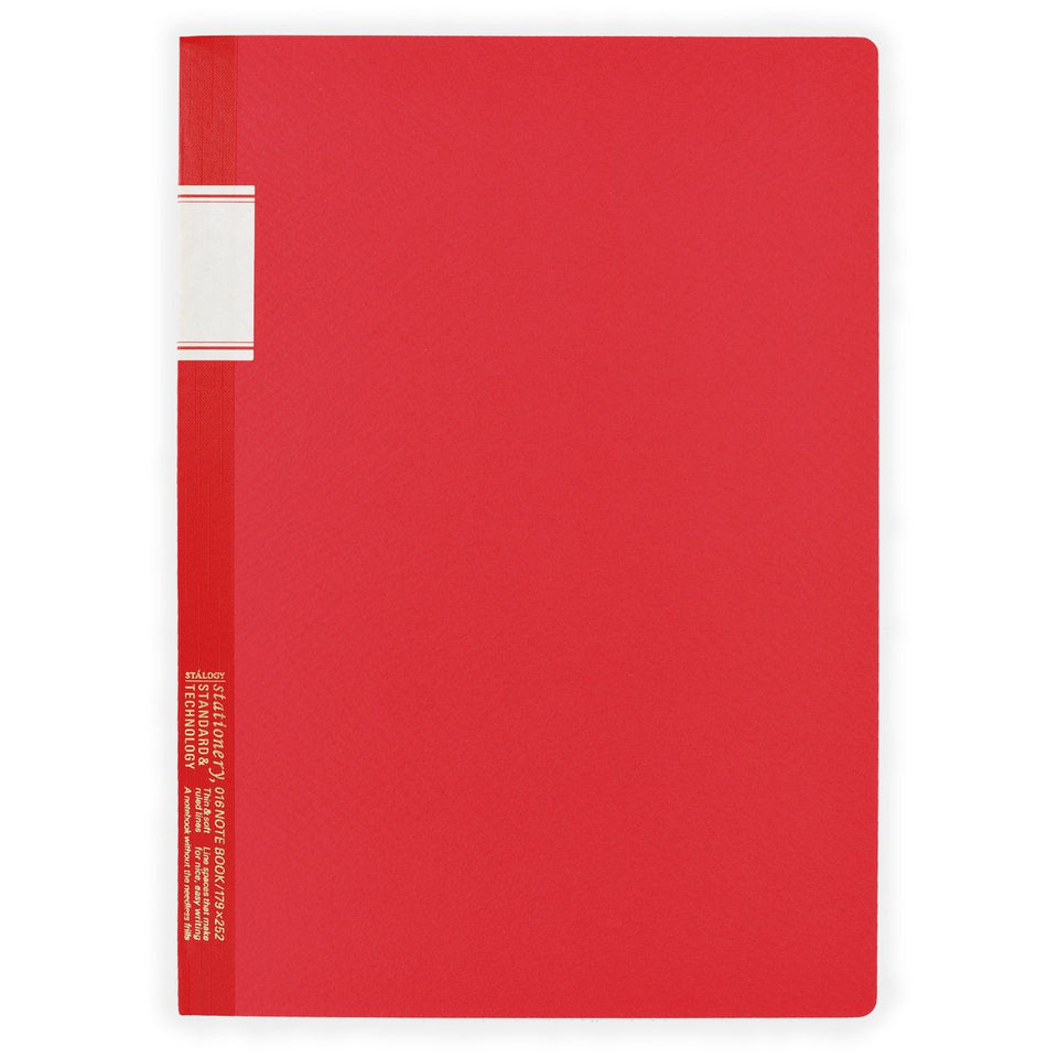 "Stalogy 7 x 10"" Notebook Red"