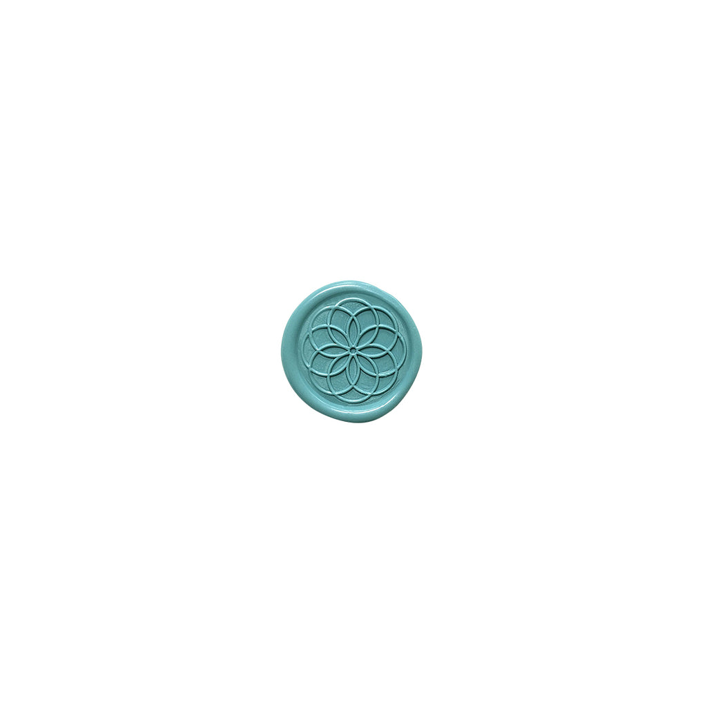 Stamptitude Wax Seal Stamps Rosette | Black Handle