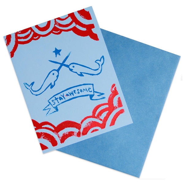 Narwhal Power - GREER Chicago Online Stationery