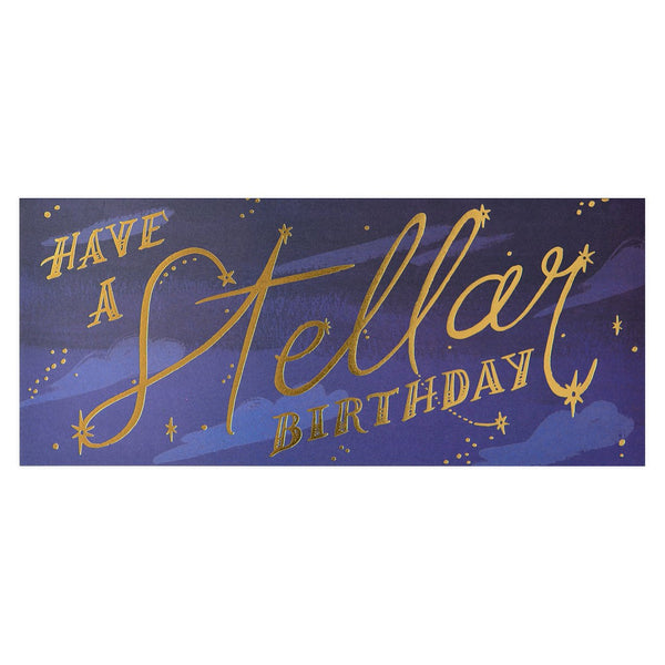 Idlewild Co. Stellar Birthday Greeting Card - GREER Chicago Online Stationery Shop