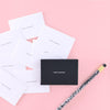 Set Editions Stop Talking Calling Cards - GREER Chicago Online Stationery Shop