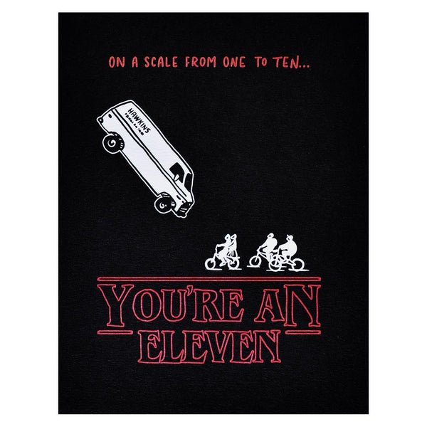 Stranger Things You're an Eleven Greeting Card