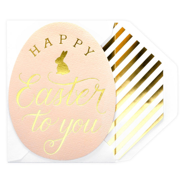 Happy Easter Egg Greeting Card - GREER Chicago Online Stationery