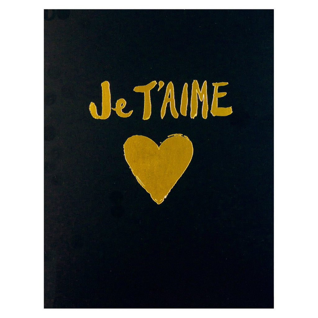 Je T'aime Card By Sugar Paper LA - 2