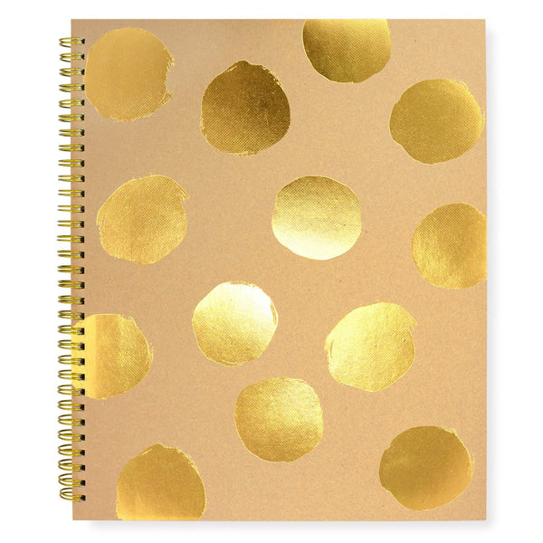 Large Painted Dot Notebook Kraft By Sugar Paper LA