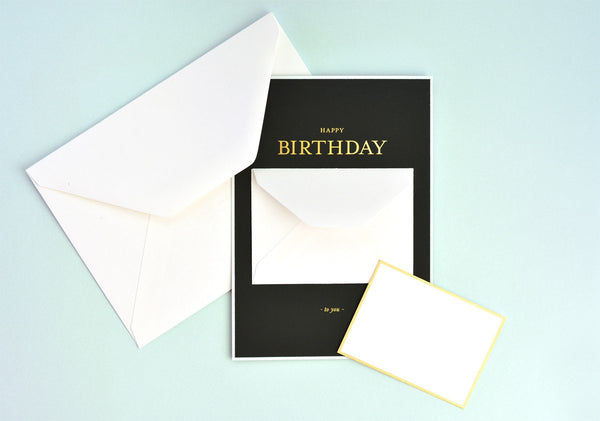 Sugar Paper LA Tiny Birthday Message Greeting Card - GREER Chicago Online Stationery Shop