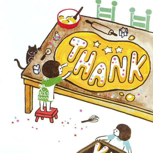 Thank You Cookies Card By Little Otsu - 1