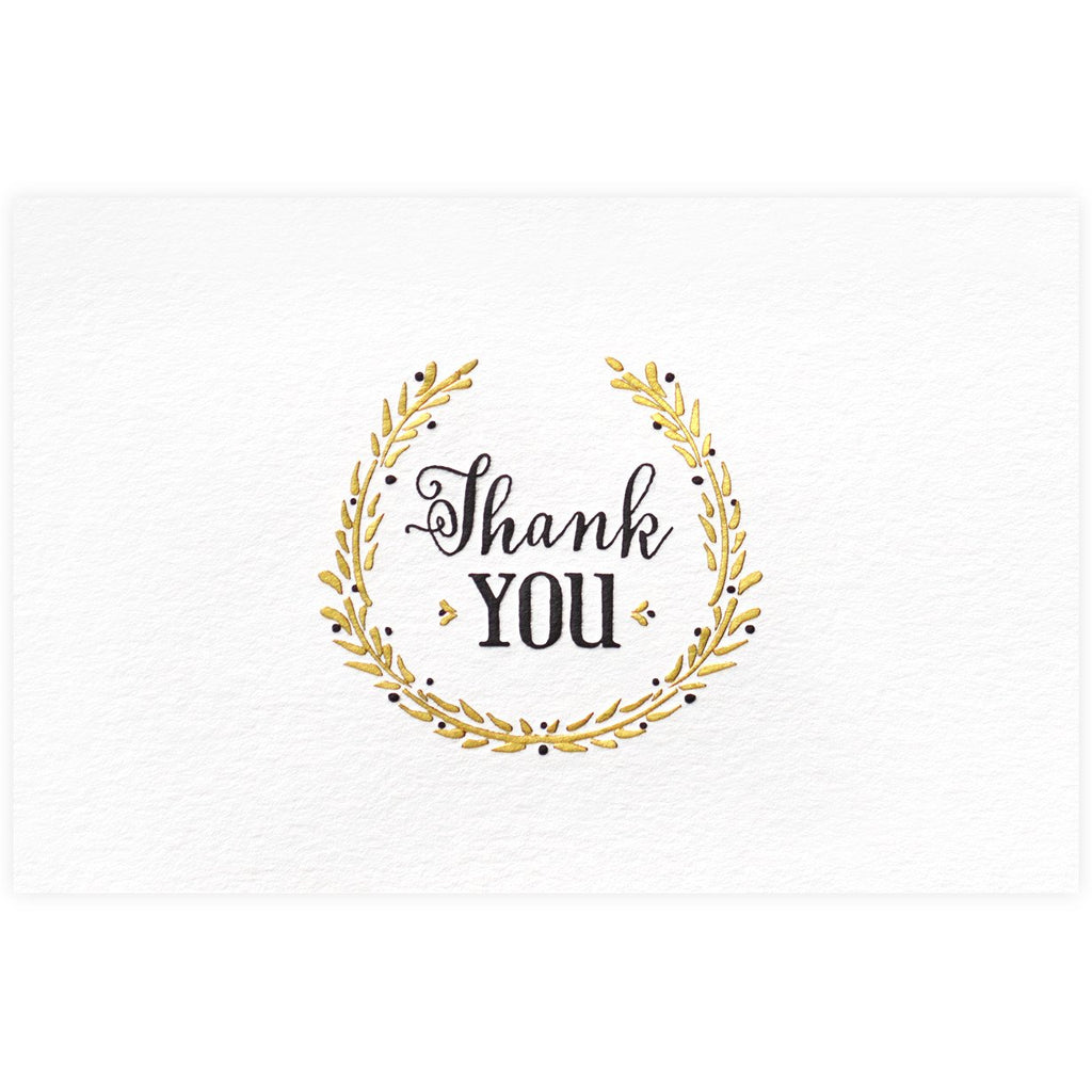 Laurel Thank You Card - GREER Chicago Online Stationery