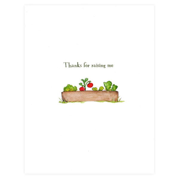 Thanks For Raising Me Mother's Day Card - GREER Chicago Online Stationery