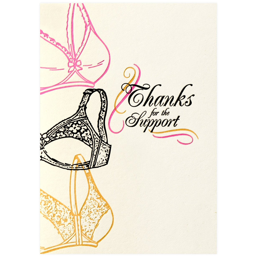 A. Favorite Thanks for the Support - GREER Chicago Online Stationery Shop