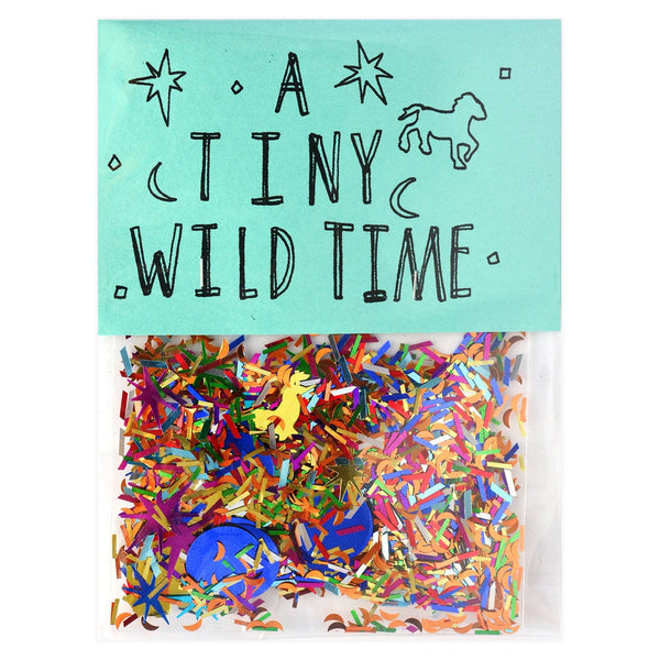 A Tiny Wild Time Sparkly Confetti - GREER Chicago Online Stationery