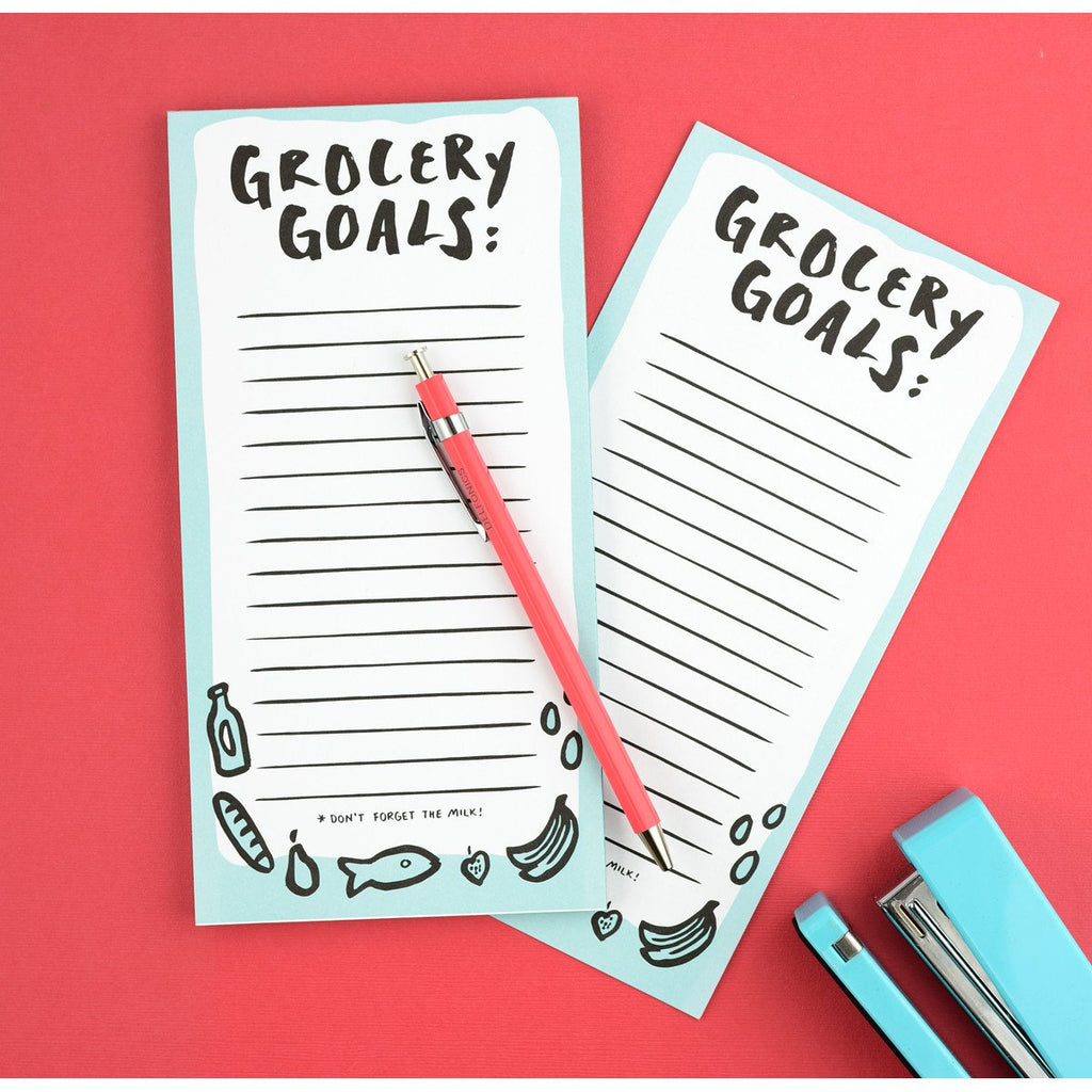 Grocery Market List Notepad By The Paper Cub - 2
