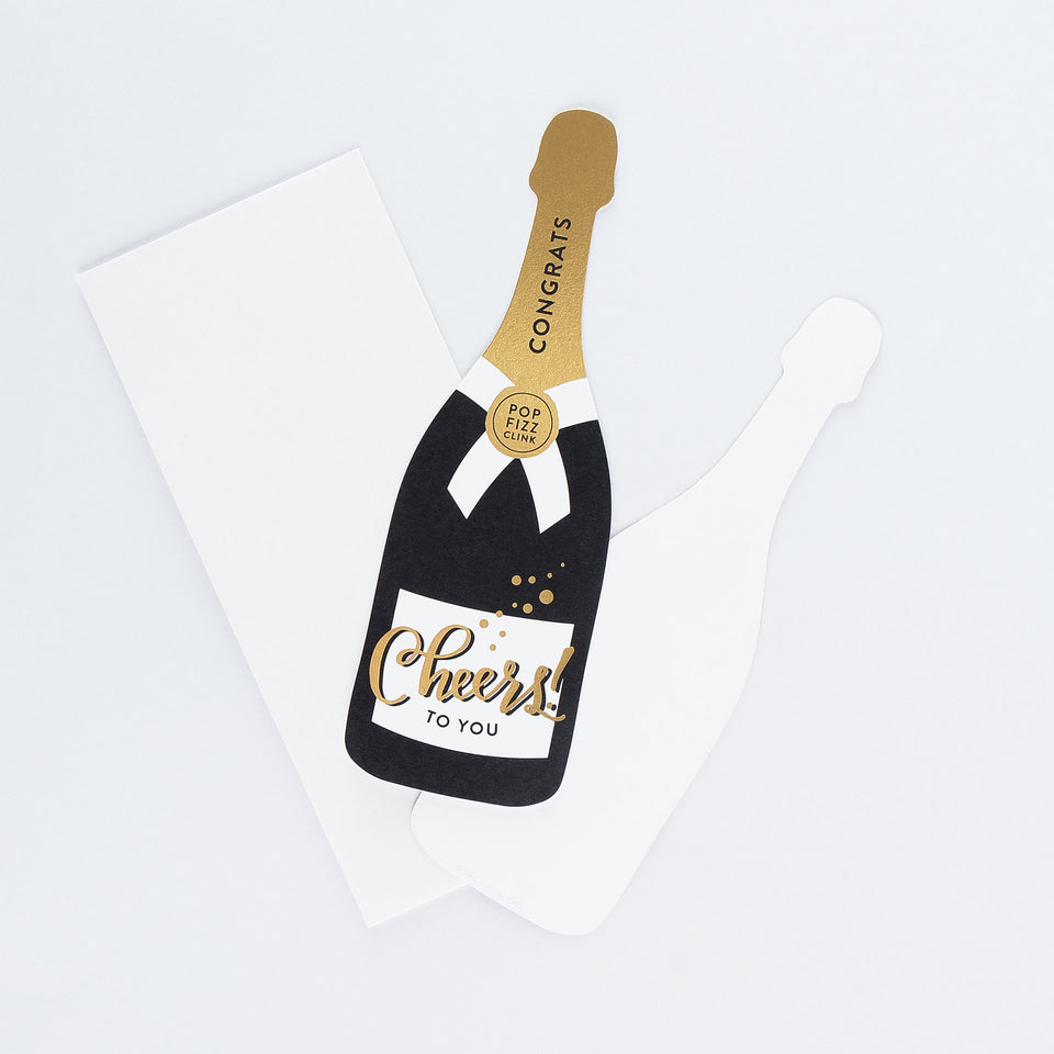 The Social Type Cheers To You! Congratulations Card