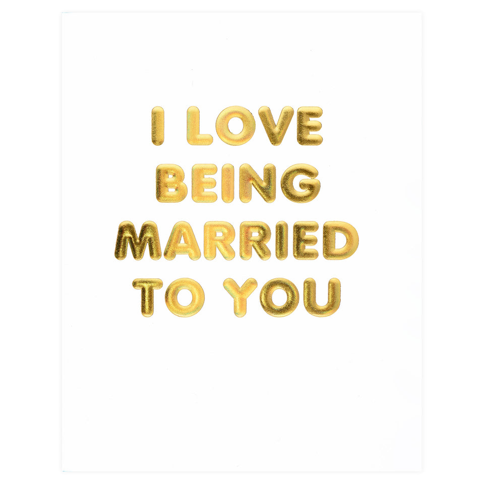 The Social Type Love Being Married To You Greeting Card
