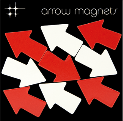 Arrow Magnets By Three By Three Seattle - 2