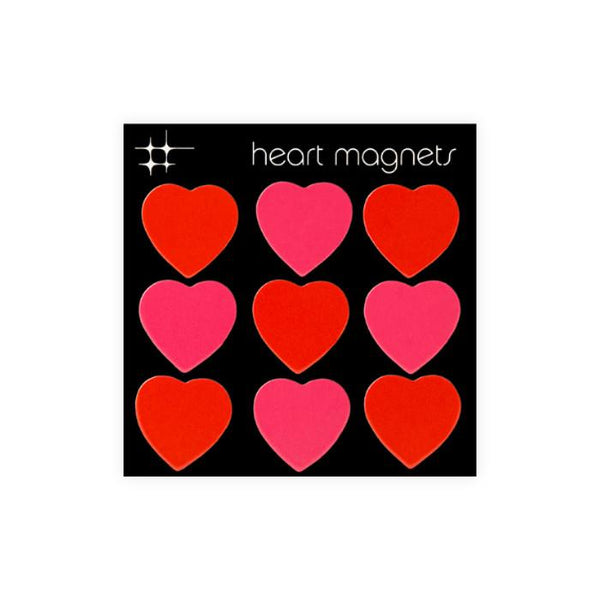 Heart Magnets By Three By Three Seattle