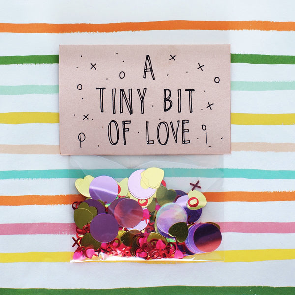 A Tiny Bit Of Love - GREER Chicago Online Stationery