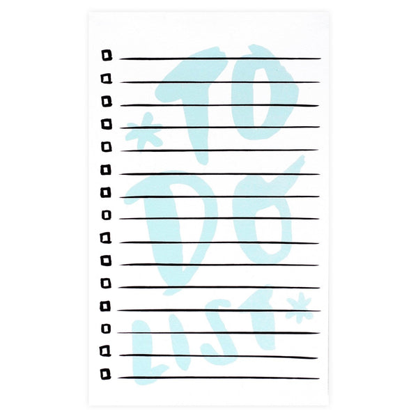 To Do List Notepad By The Paper Cub